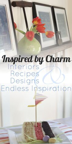 If you like my pins, come join Inspired by Charm on Facebook.  http://www.facebook.com/pages/Inspired-by-Charm/347198595293267