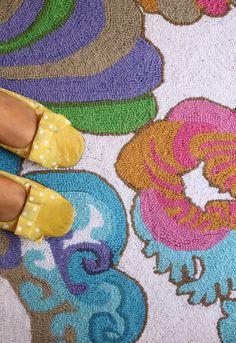 rug by Trina Turk