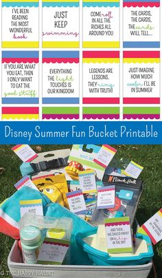 Disney Themed Summer