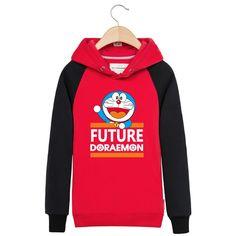 Doraemon new FUTURE DORAEMON pullover hoodie sweatershirt
