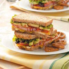 images of sandwich recipes | Hearty Veggie Sandwiches Recipe photo by Taste of Home