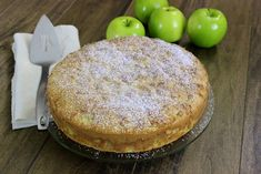 Sharlotka - Russian Apple Cake - baked this last night. So easy to make and delicious! No butter or oil in the recipe. The Granny Smith apples maintain their shape, even after baking.