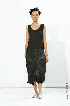 rundholz dip - Kleid Hose black iron - Sommer 2014 - stilecht - mode für frauen mit format...