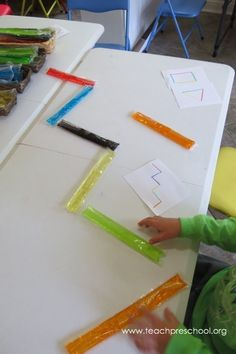 Popsicle Patterns, lines and designs