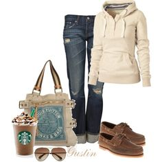 Love the casual look, minus the shoes