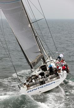 Ah, sailing on the Rambler.