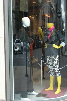 Window shopping again in Montreal