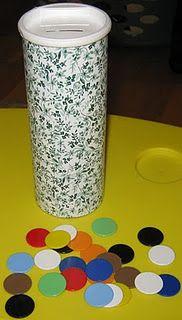 DIY fine-motor game w color recognition