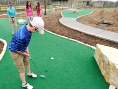 Mini Golf Course at Eagle Lake Youth Golf Center