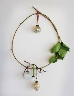 I will make this and use eucalyptus.  This will hang in the bathroom.