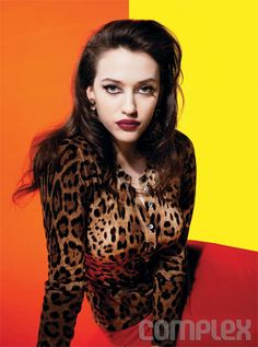 Kat Dennings, in Complex, Great picture