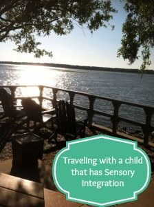 Traveling with a child that has sensory integration disorder can present a lot of challenges. These are some tips we have learned through our travels! #kids #travel