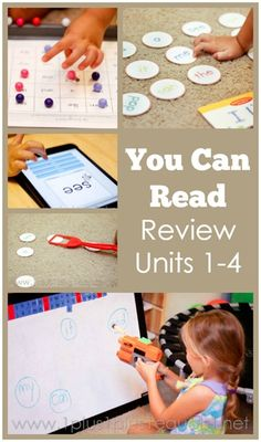 You Can Read Sight Words Review ~ Units 1-4