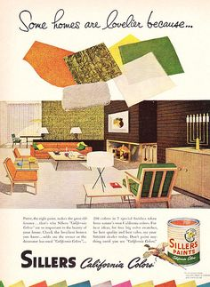 Sillers Paints Ad 1952