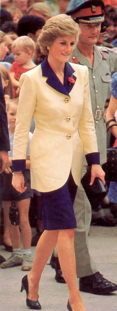 Diana, Princess of Wales.
