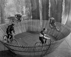 #antique #photograph #men #bicycle