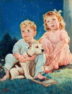 franc tipton, art, france, dog, tipton hunter, eye, starri night, kid, starry nights