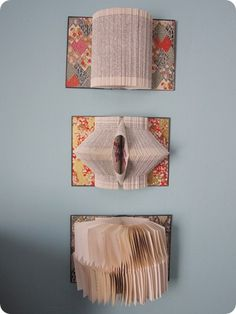 DIY Bookart....I should get around to this some day