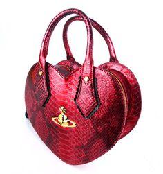 VIVIENNE WESTWOOD Croco Heart Bag