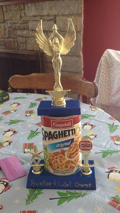 Box top trophy