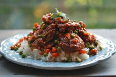 Sweet &Sour Bangkok-Style Chicken with Chiles - Chef Andrew Zimmern