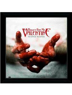 Bullet For My Valentine Temper Temper Framed Album Artwork