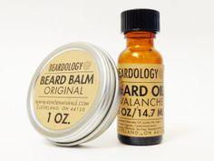 Handmade Beard Oil and Beard Balm Set for Men beards, beard present, beard balm, gift ideas c-section, skin care products, balm set, beard oil