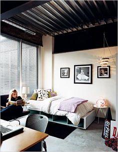 fancy dorm room