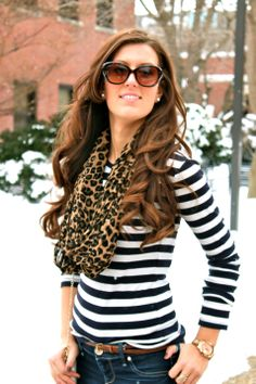 stripes and leopard print.