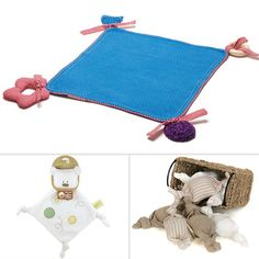 Keep toxics out of your baby's mouth. Try these 5 Eco-friendly teething blankets.