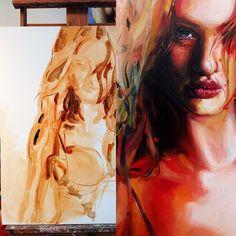 oil paint technique