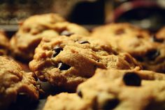 Healthy Power Protein Chocolate Chip Cookies
