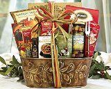 Italian Gift Basket: 1. Biscotti 2.Dried pasta 3.Green or black olives ...