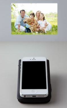 iPhone5 projector / battery pack #wishlist #giftidea
