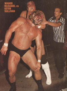 Wahoo McDaniel vs. Kevin Sullivan - This is wrestling.