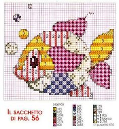 My ♥ ♥ Cross Stitch Charts From: Patchwork Cross Stitch