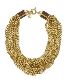Michael Kors necklace. #want