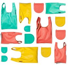 Leather Baggu Bag