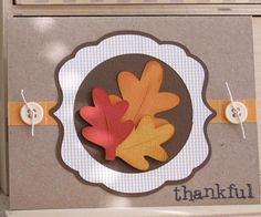 Thank you or Thanksgiving card