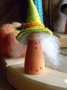 Witch peg doll