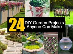 24 DIY Garden Projects That Anyone Can Make / DIY Tag on imgfave