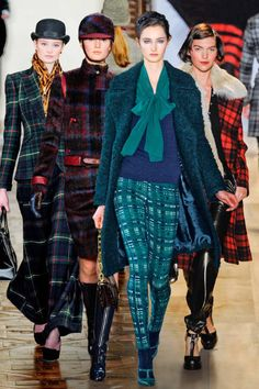 Elle | Plaid Trend: The classic pattern is synonymous with crisp fall days. Done as a dress, trousers, jackets, and more, it's perfectly plausible to wear every day of autumn.