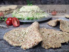 raw buttery walnut flatbread using hemp and almond pulp (raw, gf, vegan) // nouveau raw food recip, raw butteri, artisan bread, walnut flatbread, flatbreads, raw vegan, rawbutterywalnutflatbread1, butteri walnut, raw food