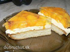 Fotorecept: Broskyňový koláč