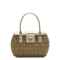 perfect wicker purse