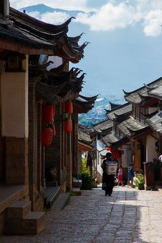 The Old Town of Lijiang China