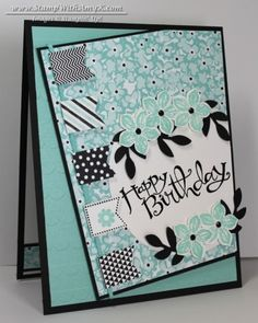 Sassy Salutations With Banner Blast Birthday - Stampin' Up! - Stamp With Amy K
