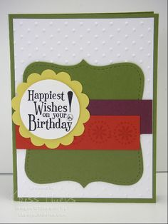 StampWithKriss.com » Stampin' Up! card ideas