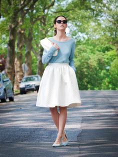 feminin, full skirts, style inspir, cloth, bittersweet colour, closet, bittersweetcolour sweater, vintag full, fashion inspir