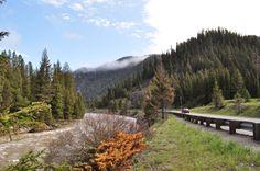 US 191 from West Yellowstone to Bozeman MT. The Gallatin Canyon. Beautiful